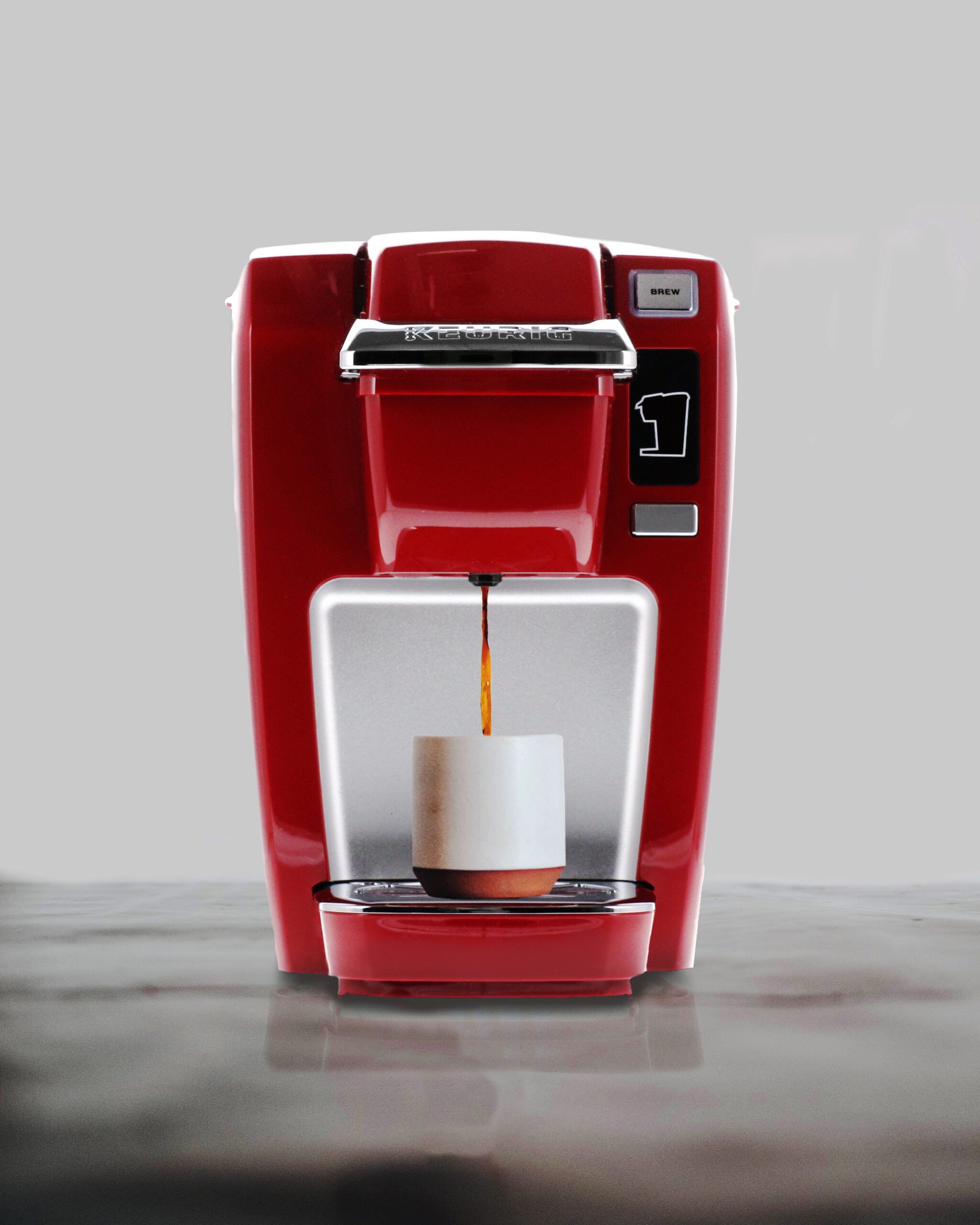 Advertising Product Image of Coffee Machine